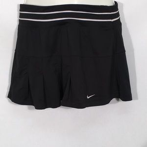 Nike Dri Fit Black Tennis Skorts Size Medium